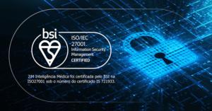 Cadeado digital simbolizando ISO 27001